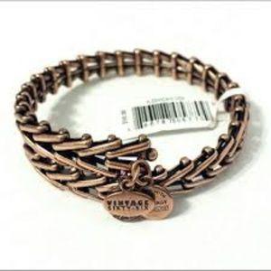 Alex and Ani 'Gypsy 66' Wrap Bracelet ROSE GOLD